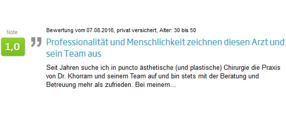 Erfahrung und Bewertung zur Faltenbehandlung in Stuttgart